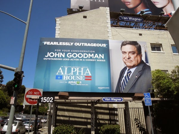 Alpha House John Goodman Emmy 2014 billboard