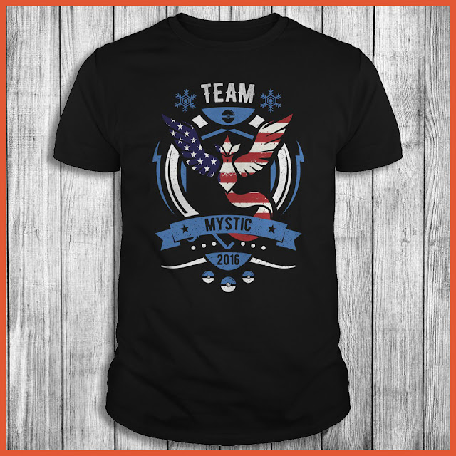 Team Mystic USA Flag - Pokemon GO Shirt
