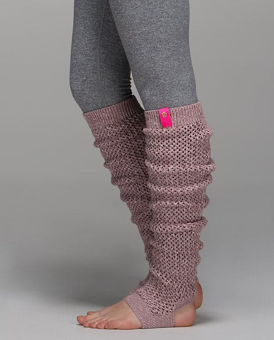 lululemon mind your practice leg warmer