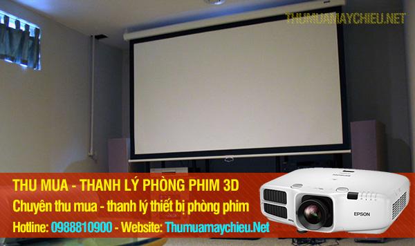 CẦN THANH LÝ PHÒNG CHIẾU PHIM HD 3D
