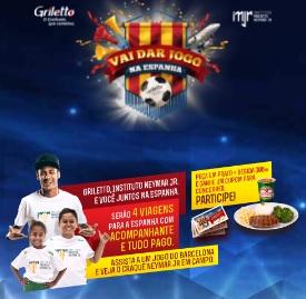 Cadastrar Promoção Griletto 2017 Vai Dar Jogo Espanha