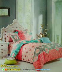 Sprei Custom Shabby Chic And Vintage JP Rose Renda Pink