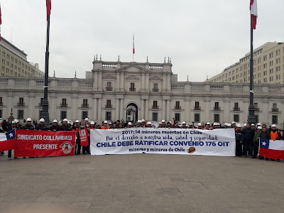 Trabajadores de minería exigen al Estado de Chile evitar más muertes en el rubro
