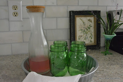 Ball jars in a Beren's tray from Tractor Supply