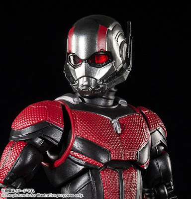"S.H.Figuarts Ant-Man de ""Ant-Man and The Wasp"" - Tamashii Nations"