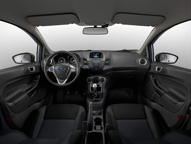 Ford New Fiesta SE 2018 - interior