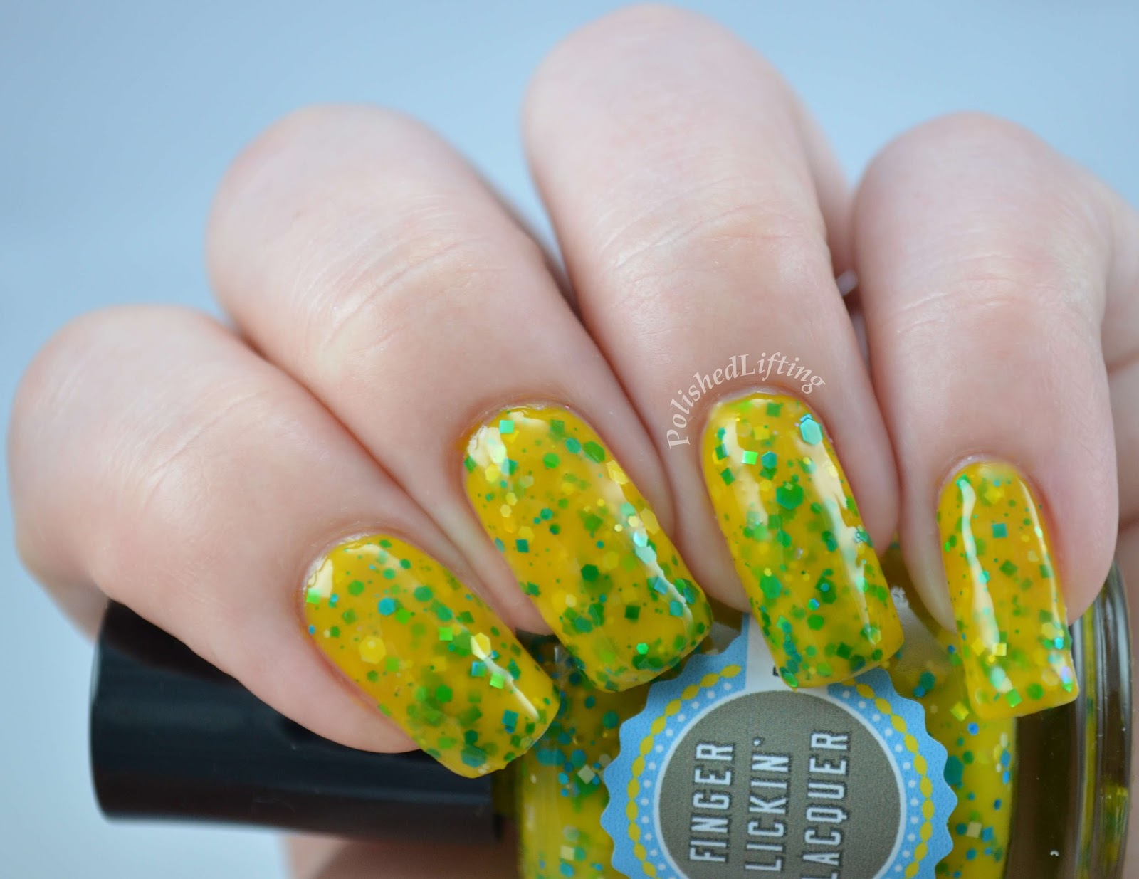 Finger Lickin' Lacquer Totally Rad Away Message