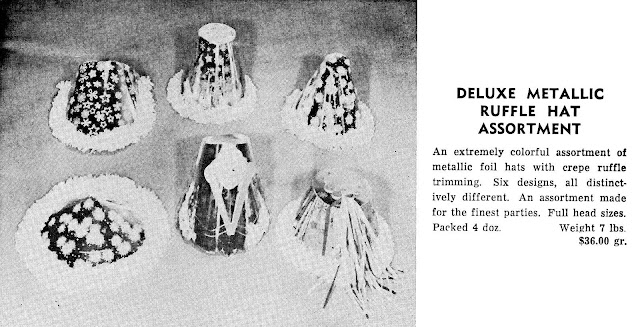 party hats 1965 advertisement photograph