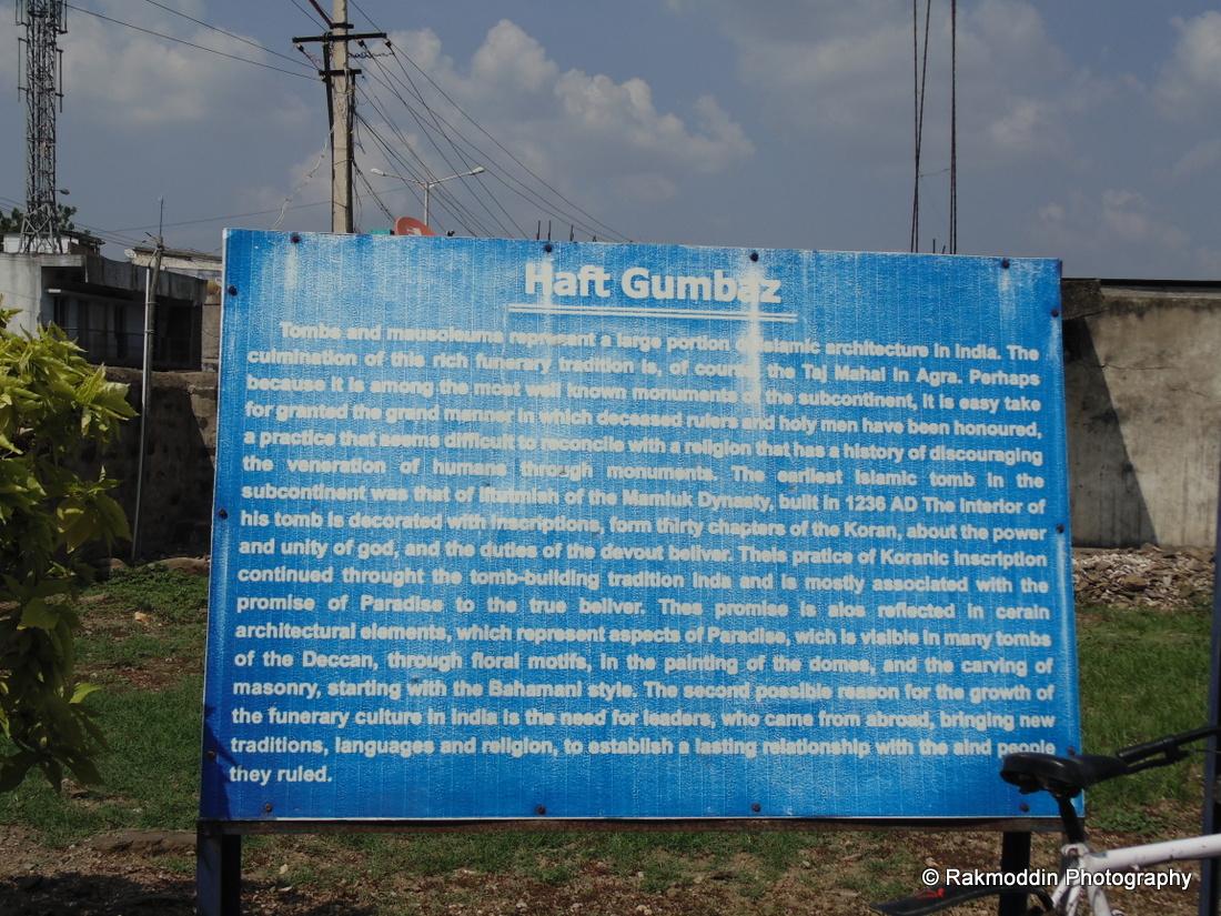Haft Gumbaz - Gulabrga   Islamic Architecture in India