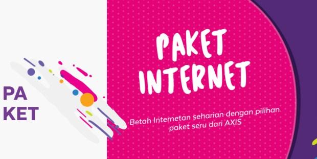 Paket Internet Axis 2019