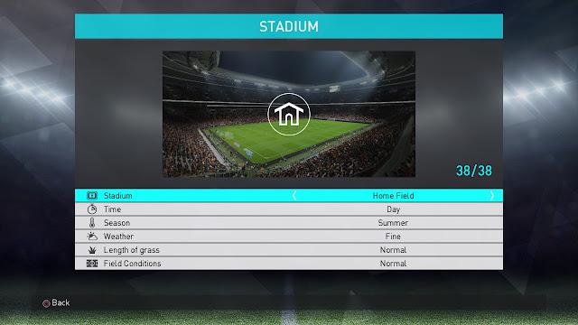 PES 2018 Stadium Unlocked dari Sofyan Andri