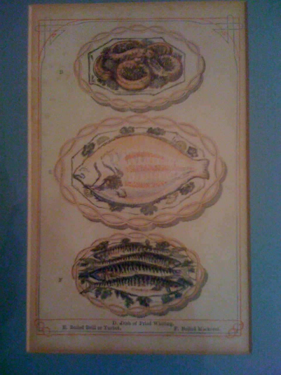 litografie dal Modern mode of Serving Dishes del Beetons Book of ...