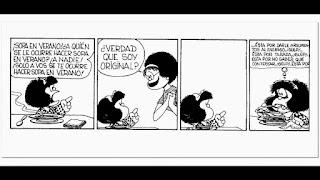 Tira de Mafalda de Quino - Otra vez sopa