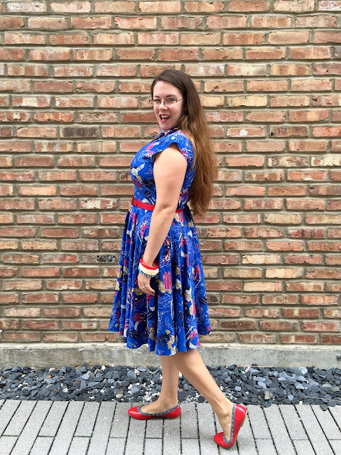 trashy diva venice nights day dress review