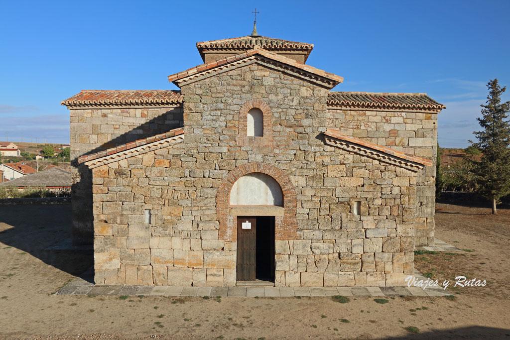 San Pedro de la Nave puerta de entrada