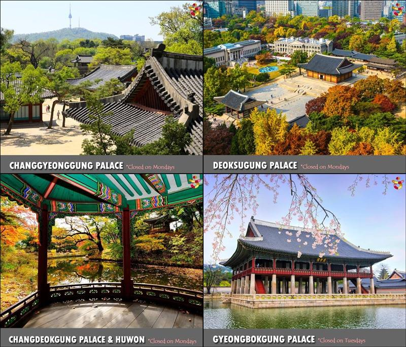 four palace in korea