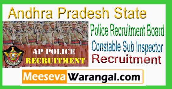 Ap Police Sl Constable Recruitment Notification Upcoming Jobs Practice Online Syllabus 2017