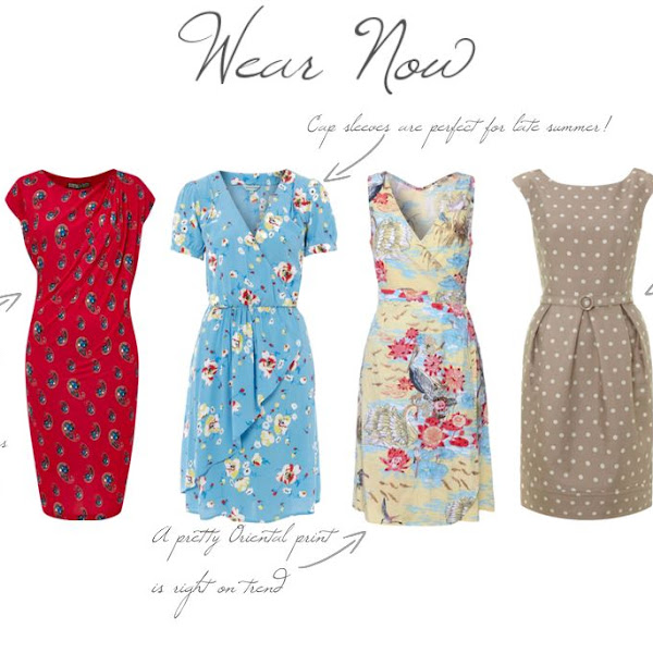 Dresses to Wear Now and Later in conjunction with House of Fraser