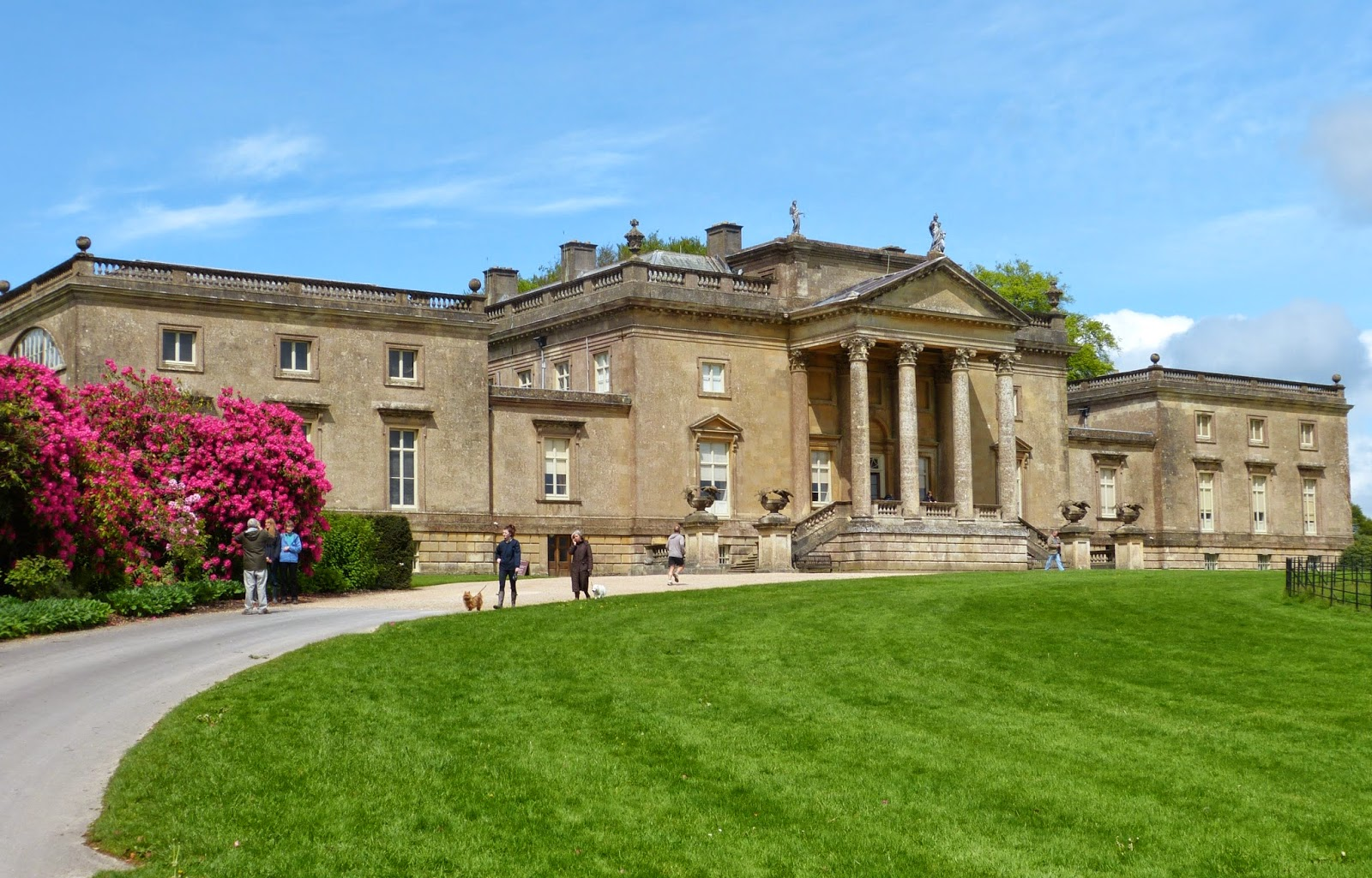 The Palladian mansion at Stourhead