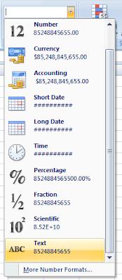Cara Agar Angka Nol tidak Hilang di Microsoft Excel