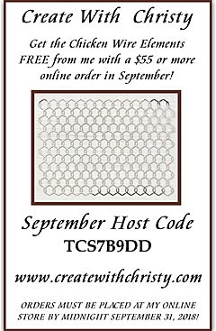 September Host Code Giveaway