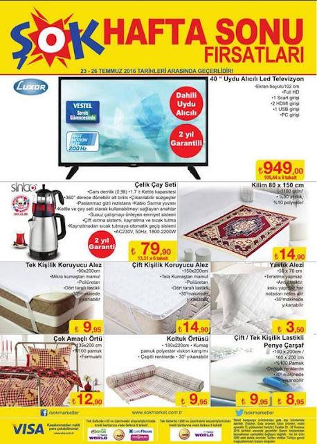 Şok Market 20-26 Temmuz 2016 İndirimli Ürünler Kataloğu - 3