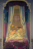 Panel 3. Psyche Discovers that Her Mysterious Lover is Eros by Maurice Denis - Religious Paintings from Hermitage Museum