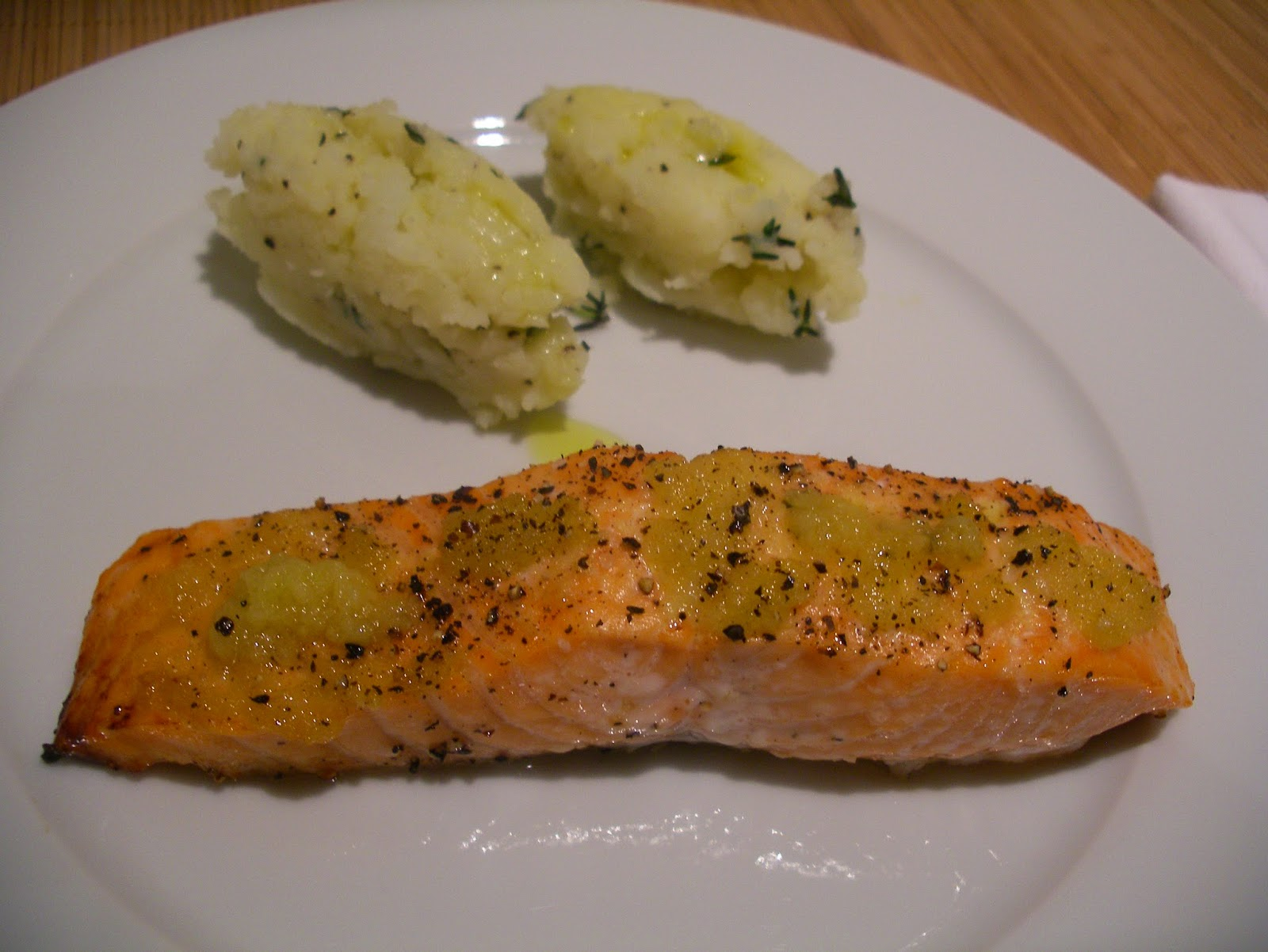 Ginger Roasted Salmon