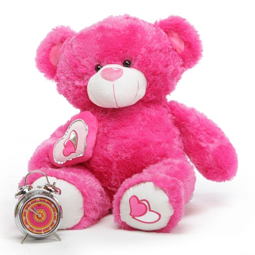 Cute Pink Teddy Bear Picture