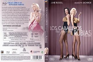 Carátula dvd: Los caballeros las prefieren rubias