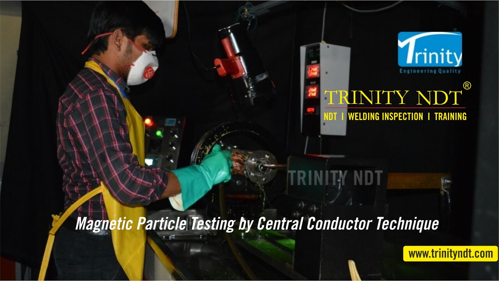 Trinity NDT - Aerospace NDT Labs, Magnetic Particle Inspection Facility