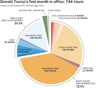 Donald Trump Graph of Time