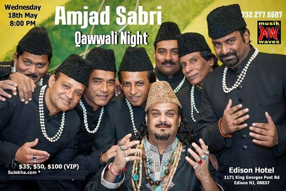 Amjad Sabri Night in new jersey