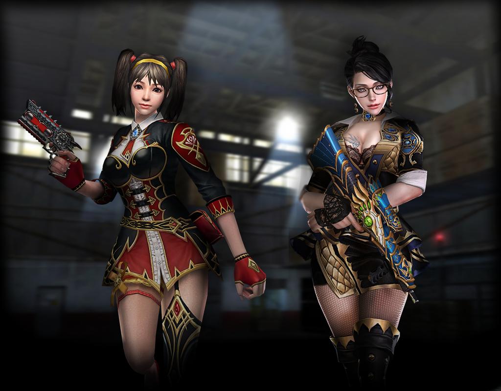 Dragon Skin Girl Wallpaper Cso Transcendent Yuri And Chou Counter Strike Character Skin