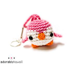 Amigurumi Penguin Keychain Free Crochet Pattern | 247x320