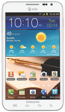 Samsung Galaxy Note for AT&T now receiving Android 4.0 Ice Cream Sandwich update