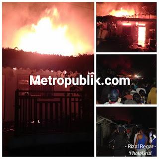 2 Rumah Habis Di lahap Api dan 1 Rumah Selamat