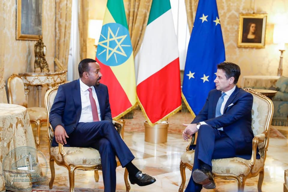 <Italy To Finance First Phase Of Study Of Massawa-Addis Ababa Railway Project