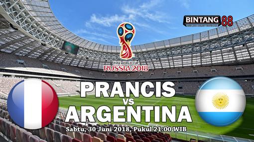 Prediksi Perancis Vs Argentina 30 juni 2018