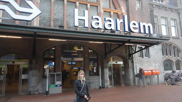 Estação de trem de Haarlem Holanda