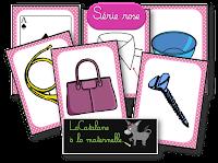 Série rose Montessori - images (LaCatalane)