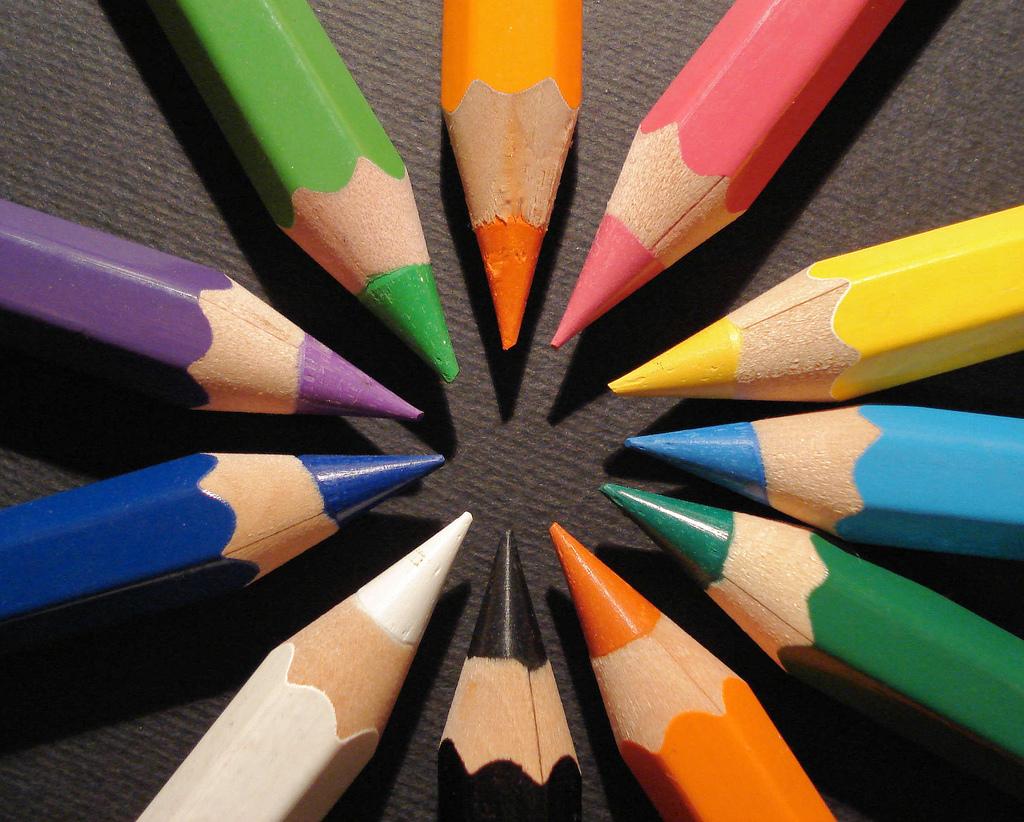 Beautiful Colour: Pencils Colours