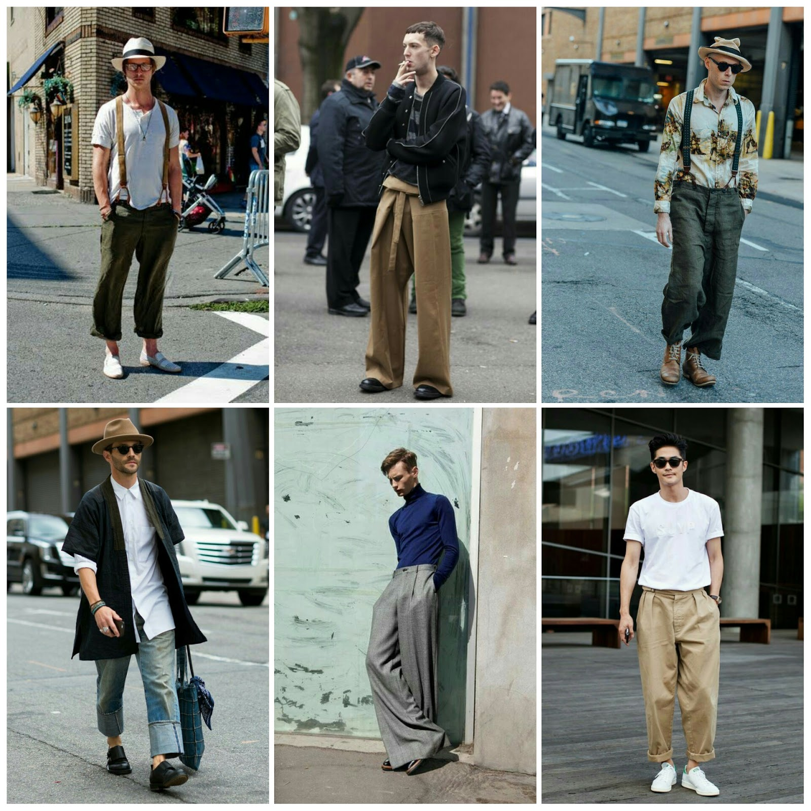 I ♥ Street Style // The Wide Leg Trouser