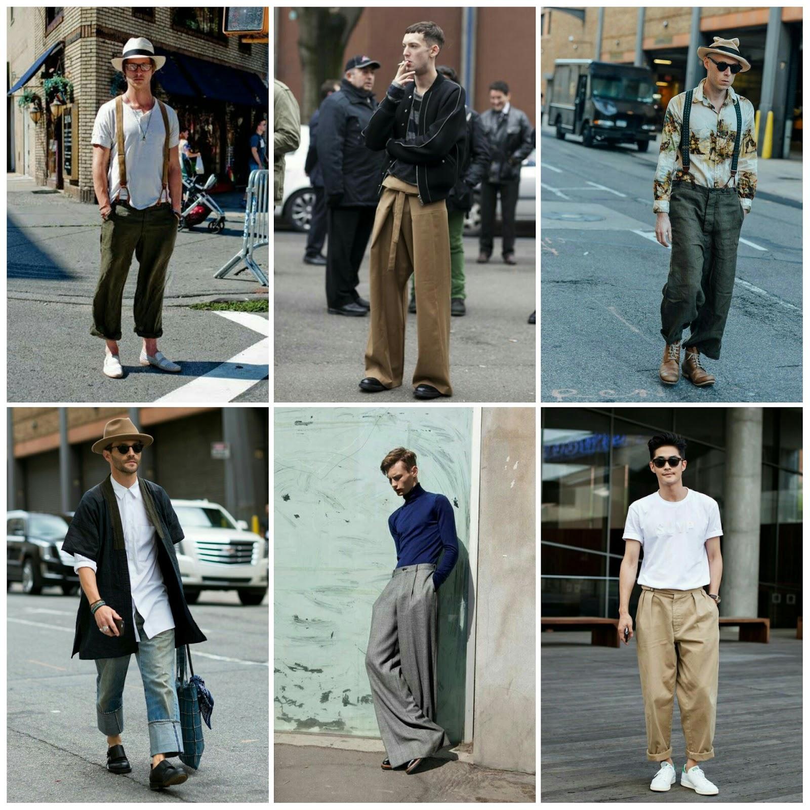 I ♥ Street Style // The Wide Leg Trouser