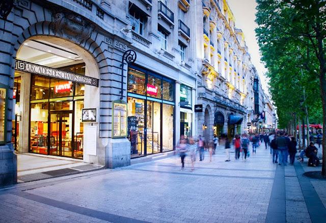 Fazer compras em Paris
