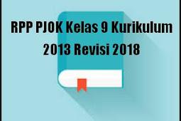 RPP PJOK Kelas 9 Kurikulum 2013 Revisi 2018