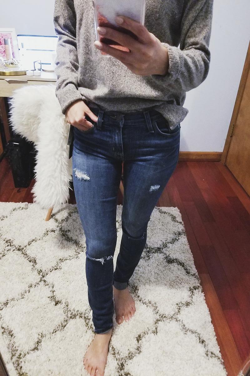 hudson nico skinny jeans review