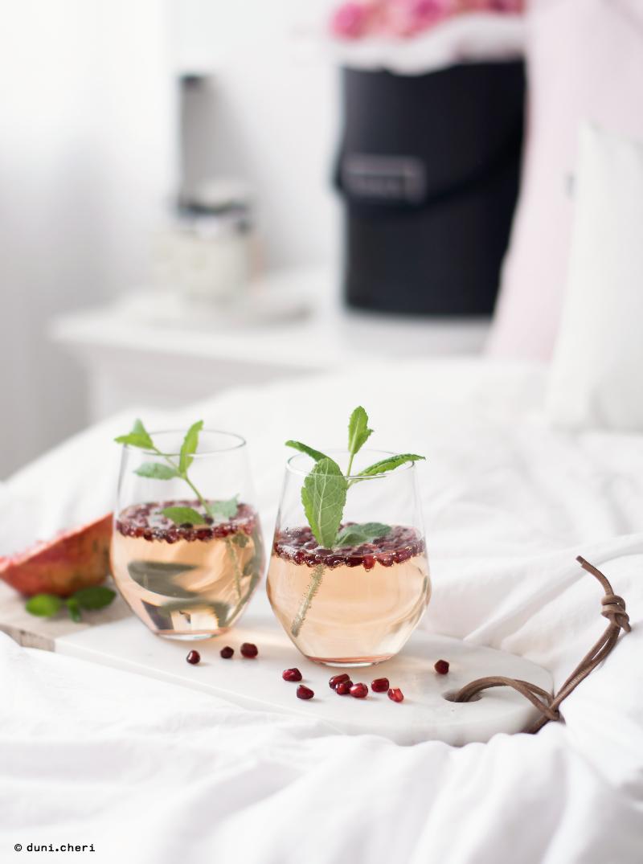 granatapfel rezept sommer drink alkoholfrei
