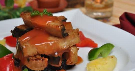 Gambar Ikan Vegan Lapis Nori