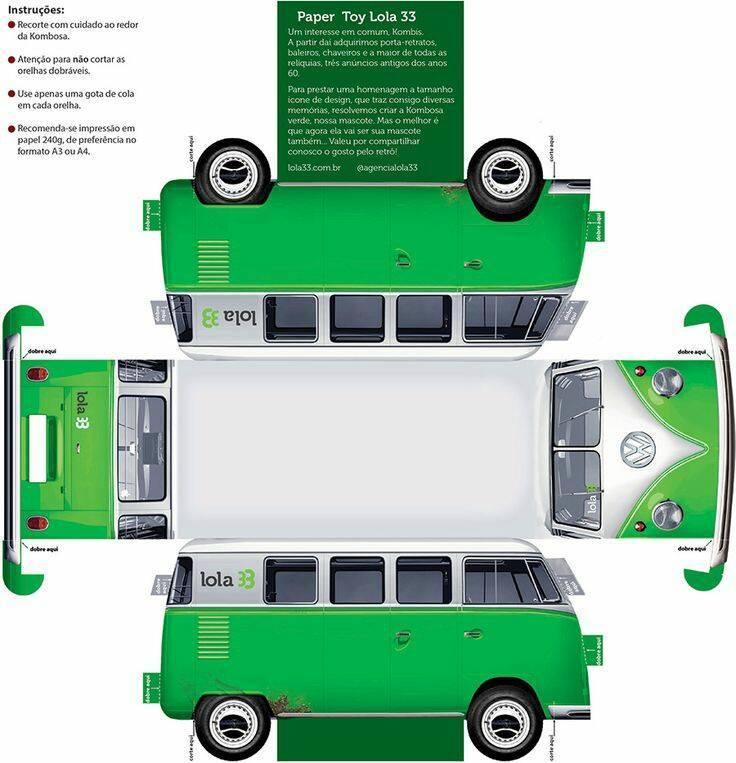 Kumpulan papercraft mobil - Desain Hidupmu